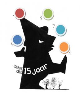 Logo 15 jaar Havankpark